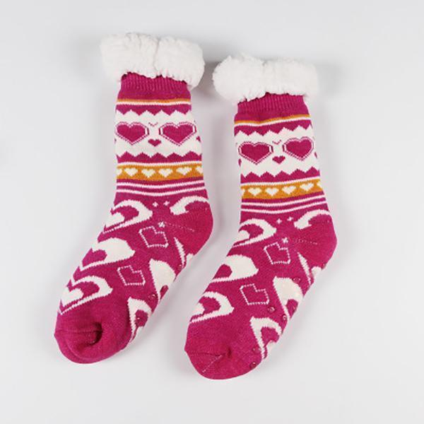 Thermal Fleece Winter Slipper Socks