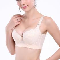 Lace 3/4 Cup Back Closure Adjusted Straps?Bras