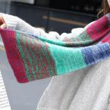 Women Winter Knitted Warm Neck Scarf Circle Cowl Scarf Fashion Colorful Snood Ladies Ring Loop Scarves Female Couple Neckchief