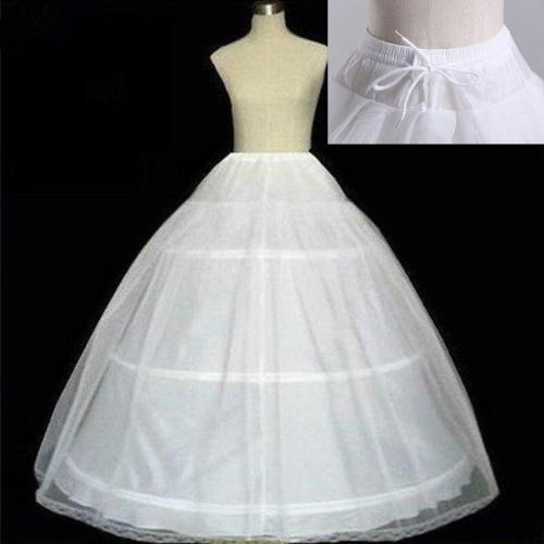 3 HOOP Ball Gown Bridal Petticoat Underskirt Women Petticoat Crinoline Bridal Wedding Accessories 2020