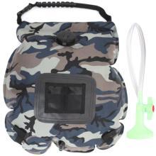 20L Waterproof Camping Shower Bag Shower Bag Bathing Bag for Outdoor Traveling Hiking