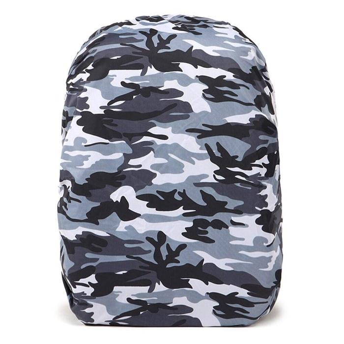 30-45L Adjustable Rain Cover Waterproof Dustproof Backpack Portable Ultralight Shoulder Protect Outdoor tools Hiking Traveling
