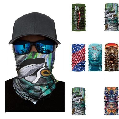 Cycling Windproof UV Protection Face Mask Outdoor Climbing Hiking Skiing Fishing Headwear Camping Bandana Neck Scarves Wraps