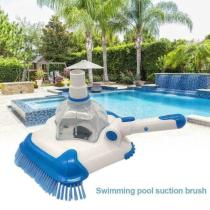 Swimming Pool Suction Vacuum Head Brush Cleaner Pentagon Flexible Swimming Pool Curved Suction Head Cleaning Tool Pool Suction