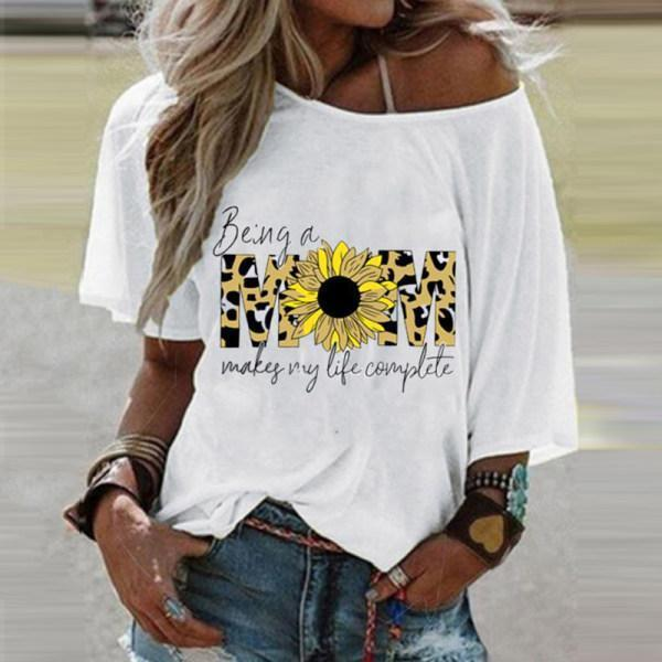 Summer New Printed T-shirt