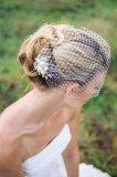 2020 New Arrival Bridal Birdcage veil Wedding Hair With Comb Women Head Wear Pear Beaded