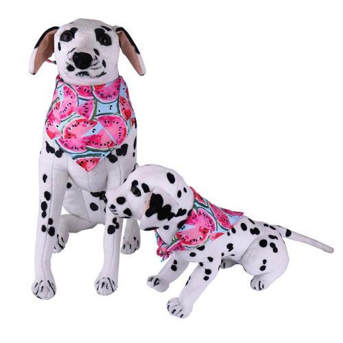 2020 Watermelon Scarfs Dog Bandana Reversible Pet Bandanas Accessories Bibs Kerchief Set  for Summer Small Medium Dogs  #1