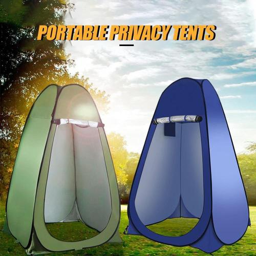Portable Pop Up Privacy Shower Tent Spacious Changing Room For Camping Fishing Hiking Beach Outdoor Toilet Shower Bathroom