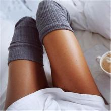 Fashion Knit Over The Knee Pile Of Socks