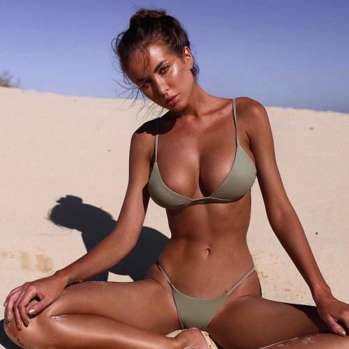 Exotic Trikini Swimming Set