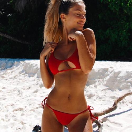 Open Under Bust Sexy Bikini