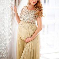 2020 Summer Pregnant pregnancy dress Women Photography Photo Props Fancy Popular Long Maxi Gown Maternity Dress