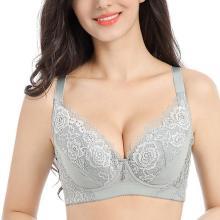 Lace Wide Shoulder Full Coverage Lightly Lined Bras