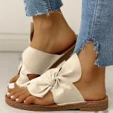 Women Fashion Casual Daily Comfy Slip On Sandals Slipper