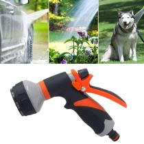 8 Patterns Water Nozzle Water Gun Head Hose Sprayer Pressure Washer Garden Spray Auto Car Washing Gardening Tools And Equipment