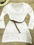 Knitting Hollow Swimwear Cover-up