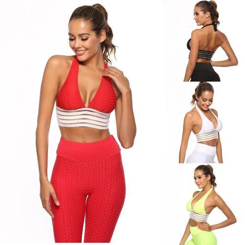 EBUYTIDE Sport Bra Top Gym Push Up Women Bra Fitness Padded Bra Brassiere Sports Top Bra Female Sports Bra Yoga Women Sujetador Deportivo