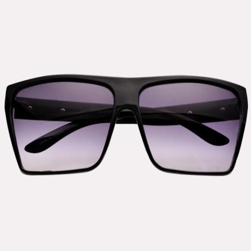 Unisex Retro Style Square Plastic Oversized Frame Eye Glasses Sunglasses