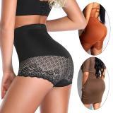 Panties Women Body Shaper Culotte Taille Haute Slimming Shapewear High Waist Booty Lifter Tummy Control Panty Lace Corset Shorts