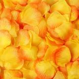 100piece/lot 5*5cm Artificial Flowers Simulation Rose Petals Decorations Wedding Marriage Room Rose Flower
