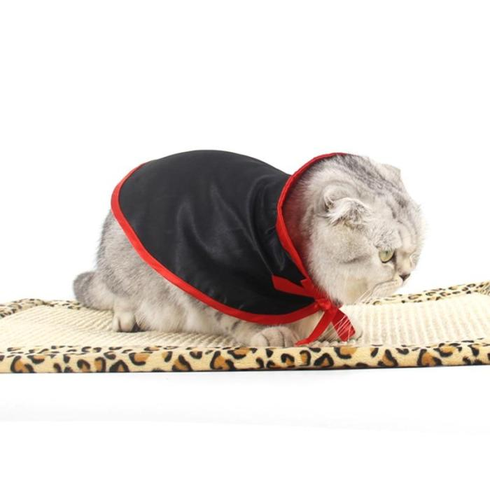 Halloween Cat Small Cape Costumes Shawl Warm Pet Cape Dog Cat Small Cape Puppy Cosplay Clothes Pet Products Cat Costumes