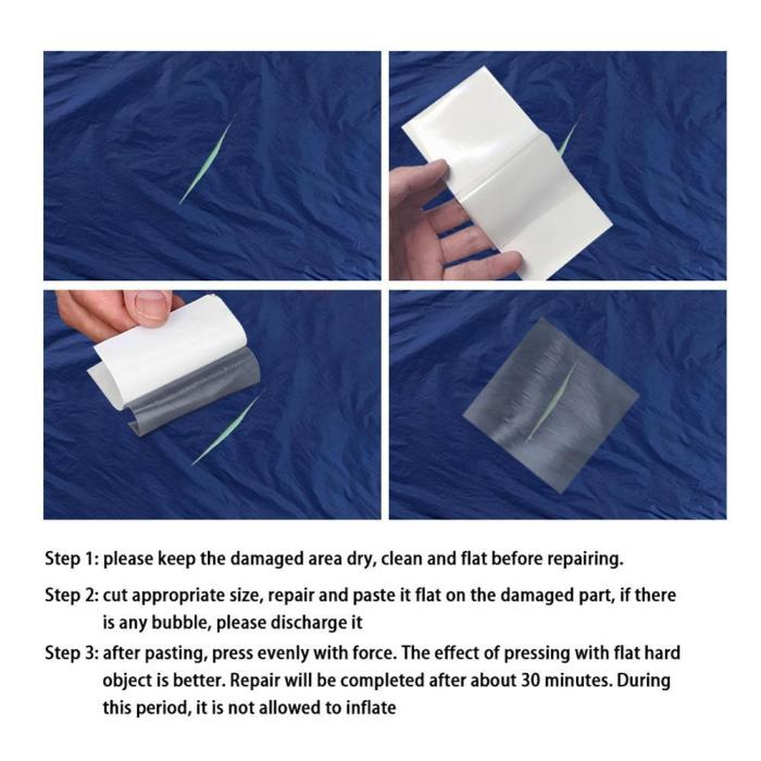 Repair Patch Self-Adhesive Patches Tape For Inflatable Swimming Pools Repair Tape Patch Adhesive Tape for Swimming Pool Ring