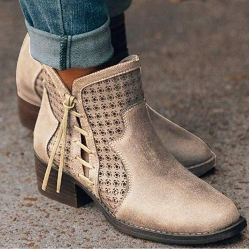 Women's Classic Retro Ankle Boots Chelsea Boots
