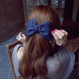New Fashion Big Solid Cloth Bows Hair Clips Hair Accessories for Women Girl Wedding Hair Jewelry Accessories For Women