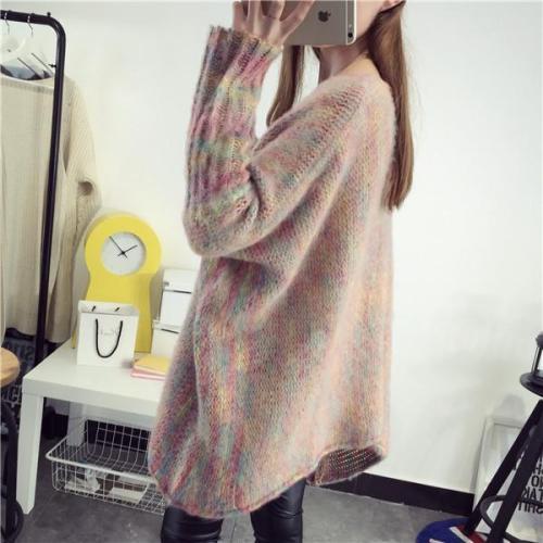 Bat Sleeve Cloak Loose Knitting Sweater