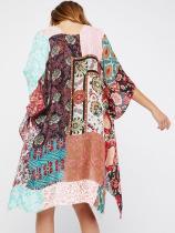 Floral Printed Cover-Ups Swimwear