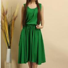 Cotton and Linen Mori Sundress