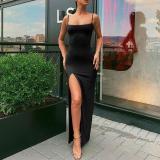 Sexy Split Off-the-shoulder Sling Bodycon Dress