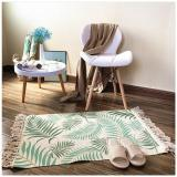 Nordic Cotton and Linen Carpet, Hotel Home Decoration, Living Room Coffee Table Blanket, Bedroom Bedside Long Floor Mat