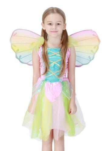 Lovely Rainbow Angel Skirt Halloween Princess Skirt
