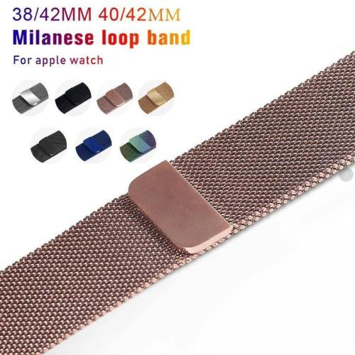 Apple Watch Magnetic Milanese Loop Watchband Strap