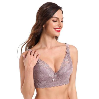 Hot Full cup thin underwear small bra plus size wireless adjustable lace Women's bra breast cover B C D cup Large size Lace Bras