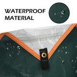 4x3m Awning Waterproof Tarp Tent Shade Ultralight Garden Canopy Sunshade Outdoor Camping Hammock Rain Fly Beach Sun Shelter