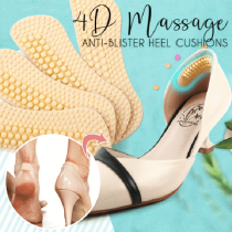 3Pairs 4D Massage Anti-blister Heel Cushions