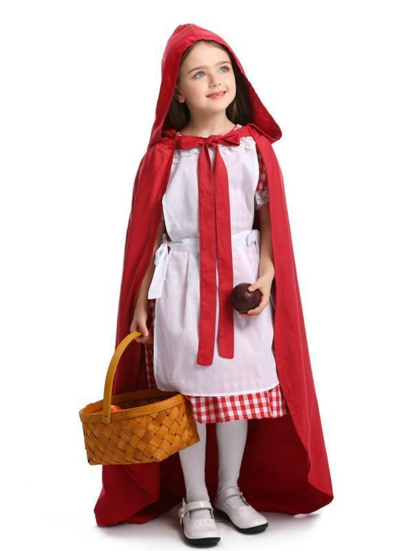 Little Red Riding Hood and Meidochan Wear Skirts
