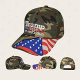 Embroidered Baseball Cap Breathable Sunshade Cotton Hat Outdoor Sports Cycling Camping American President Election Sportswear