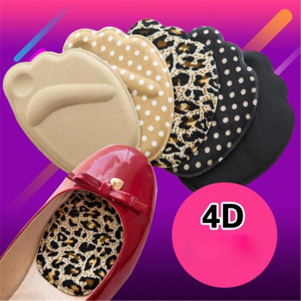 1 pair Forefoot Insoles Shoes Sponge Pads High Heel Soft Insert Anti-Slip Foot Protection Pain Relief Women shoes insert Insoles