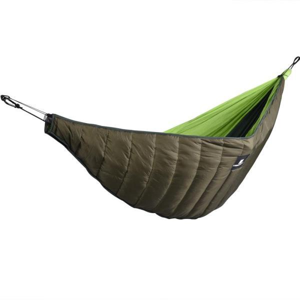 Outdoor Hammock Sleeping Bag Ultralight Camping Hammock Underquilt Portable Winter Warm Under Quilt Blanket Cotton Lazy Bag