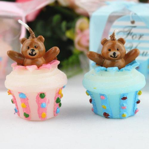 Teddy Bears Weeding Candle