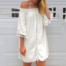 Sexy Fashion Off Shoulder Mini Dress