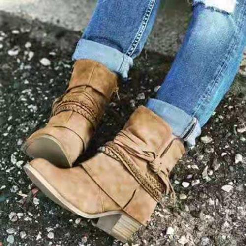 Winter Casual Comfortable Slip-on Boots