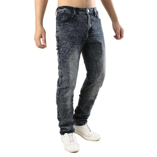 Fashion casual grind arenaceous jeans