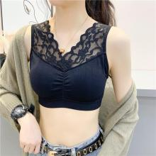 Women Lace Cami Crop Tops Vest Halter Blouse