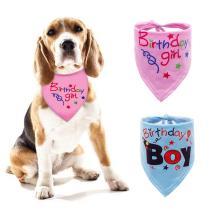 Personalized Dog Bandana Handmade Custom Dog Scarf Cotton Breathable Puppy Kerchief with Adjustable Collar Bandana Bib Embroidered with Dog Name