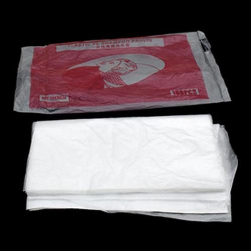 100PCS Disposable Hair Cutting Capes Hairdressing Home Dyeing Barber Apron Haircut Apron Hair Shampoo Pads For Beauty Salon