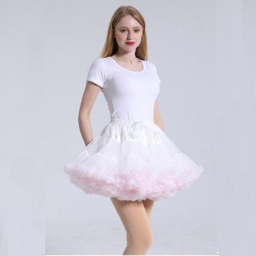 2020 Ruffles Petticoat Underskirt Women Mini Petticoat Tulle Puffy Short Vintage Wedding Bridal Petticoat Rockabilly TuTu